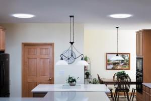Le conduit de lumière Solatube illumine votre cuisine