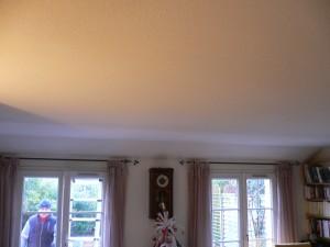 Un salon sans conduit de lumière