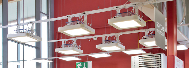 Luminaire-Installation-fibre-optique-echy