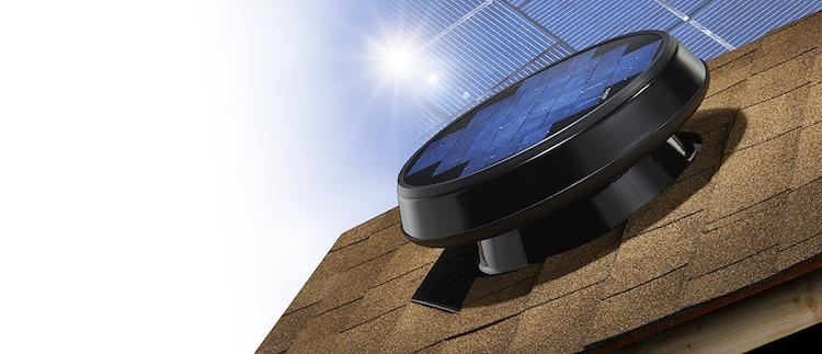 l extracteur de comble solar star nature et confort. Black Bedroom Furniture Sets. Home Design Ideas