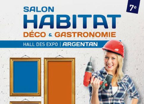 Salon Habitat à Argentan du 11 au 13 novembre 2016