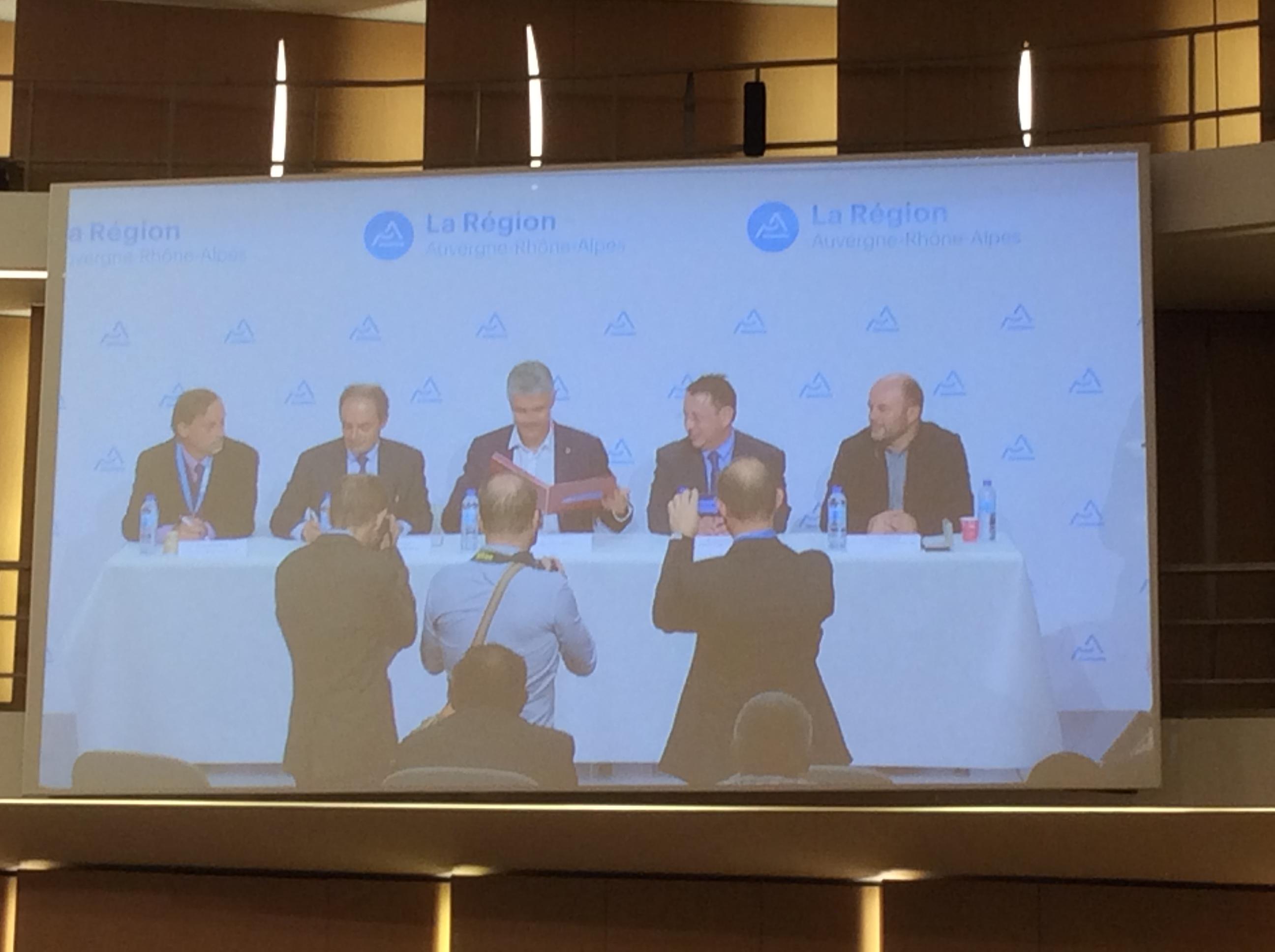 Charte BTP Auvergne Rhône Alpes Assises du BTP et de la préférence régionale