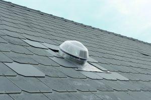 puit de lumière naturelle Solatube sur un toit