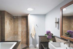 Salle de bain sans fenetre lumiere