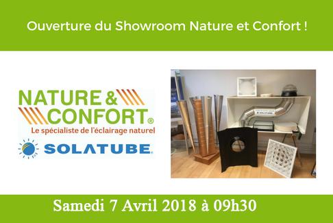 Ouverture du showroom le Samedi 7 Avril 2018 !