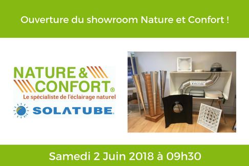 Ouverture du showroom le Samedi 2 Juin 2018 !