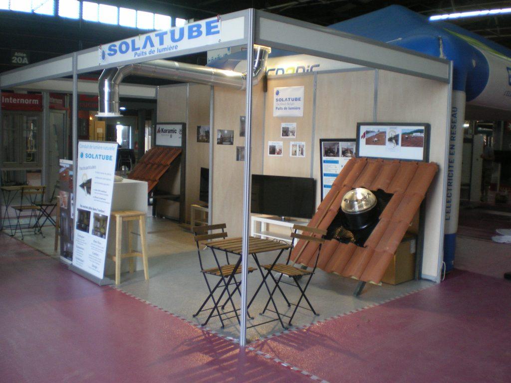 Les puits de lumière naturelle Solatube à la Foire de Clermont