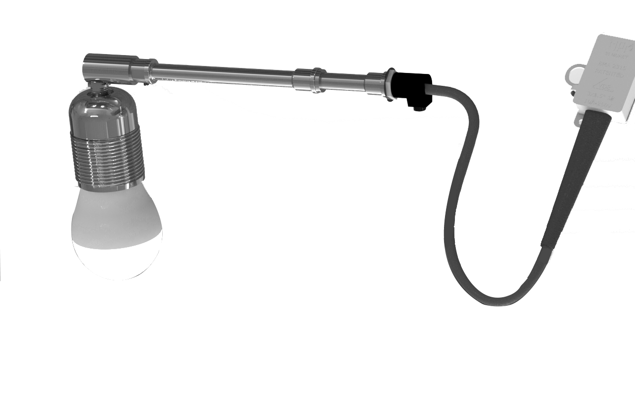 Puits de Lumiere kit éclairage électrique
