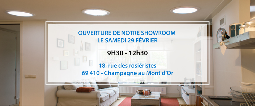 ouverture showroom
