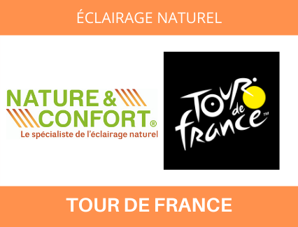 Eclairage naturel Tour de France